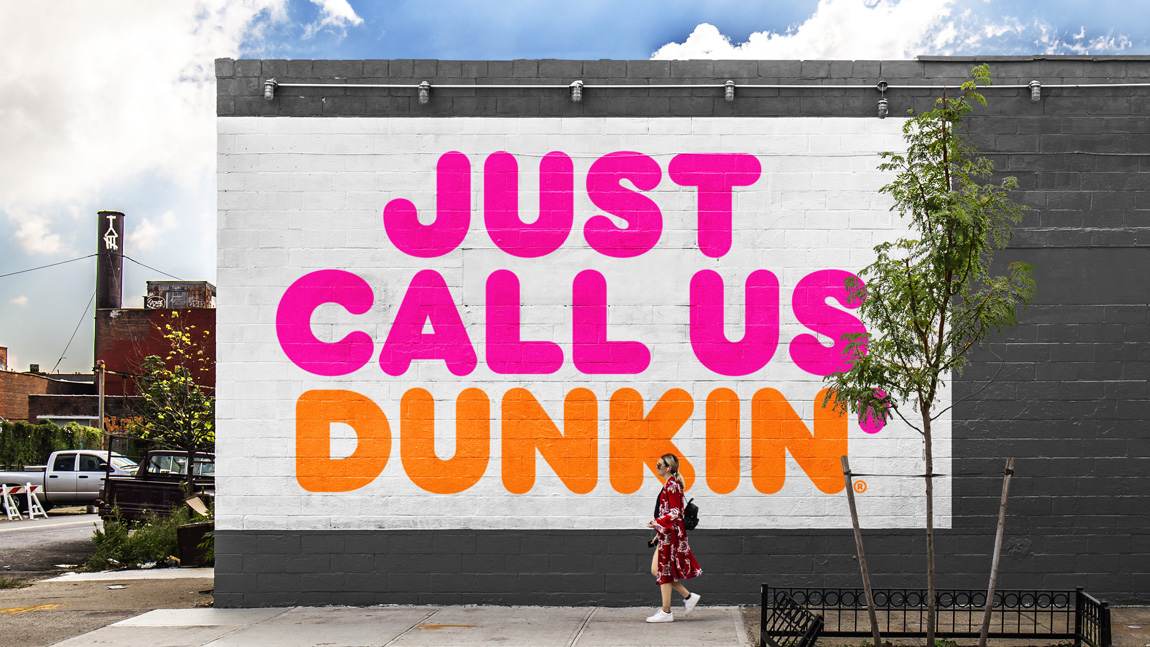 Just call Dunkin': It's Dunkin' Donuts New Brand Identity