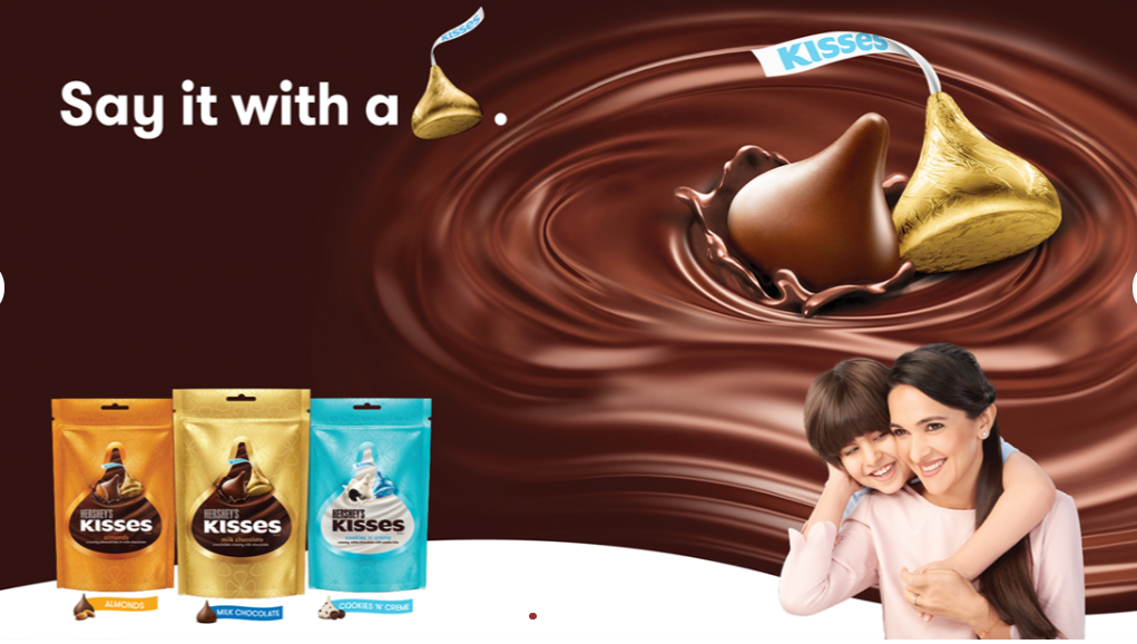 Hershey's Kisses now in India in three iconic variants