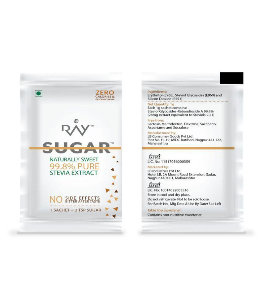 LB Consumer Goods launches Ray Stevia - 100% Natural Sweetener