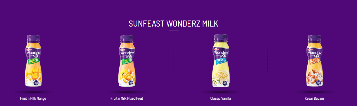 ITC forays into the Dairy Beverages category with launch of Sunfeast Wonderz Milk.