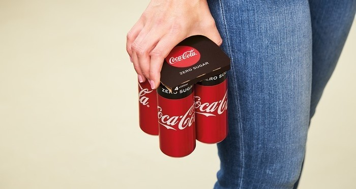Coca-Cola replaces plastics wrap with paperboard technology