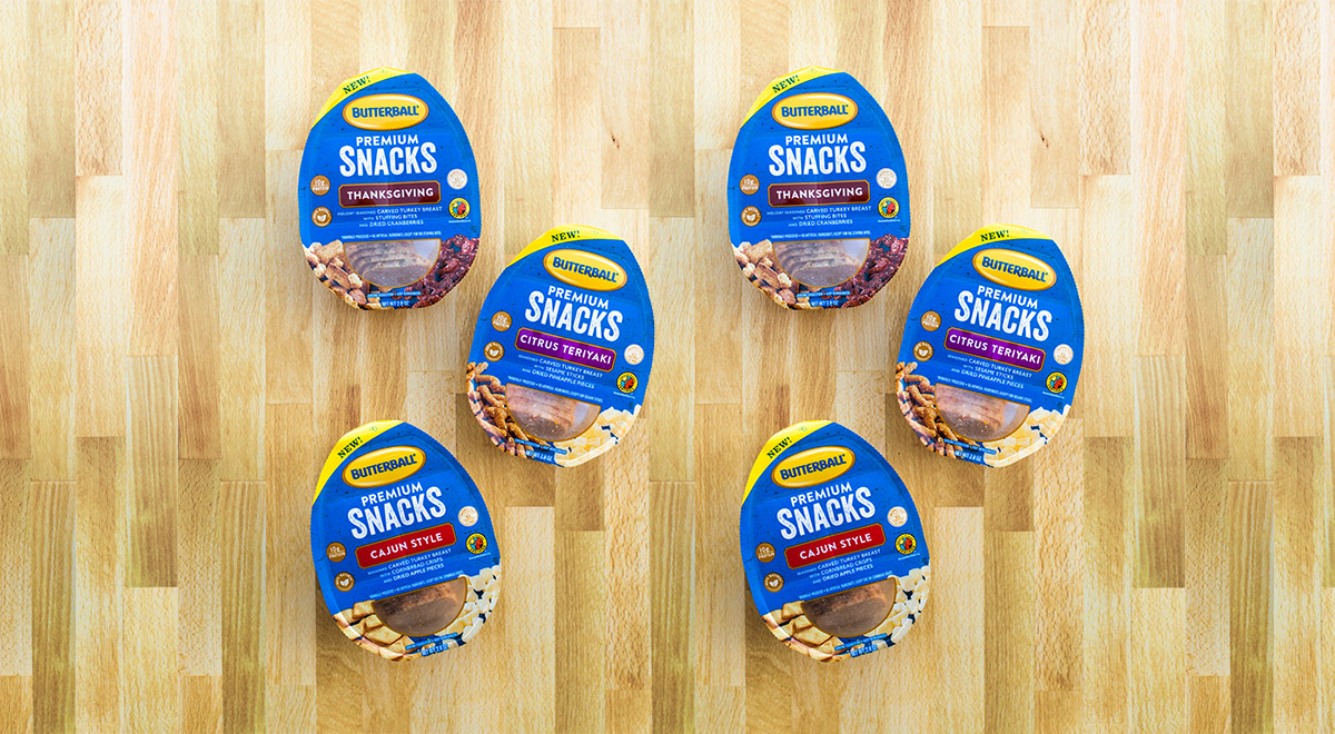 Butterball® & Amcor connect snacking consumers with new turkey option