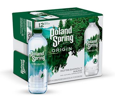 Poland Springs, Nestlé Waters debut  rPET bottle