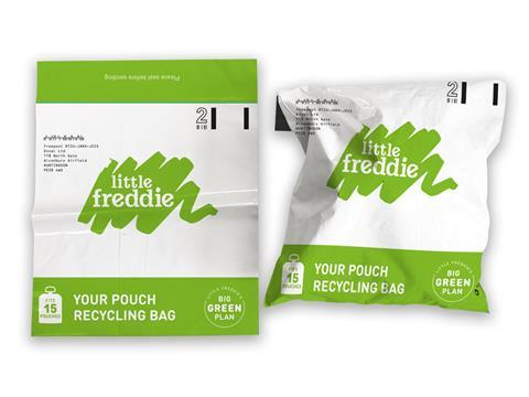 Enval helps Little Freddie increase pouch recycling by 526%