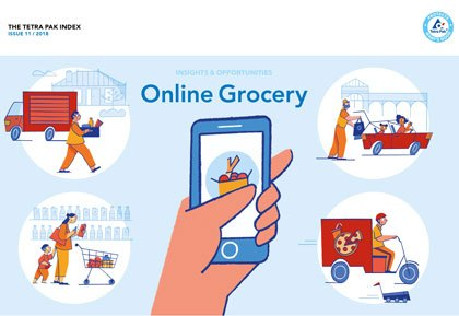Tetra Pak Index 2018 says smart packaging offers exciting opportunities in fast growing online grocery​