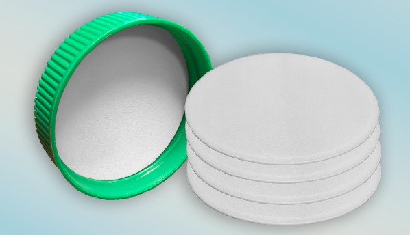 Three-ply co-extruded LDPE foam liner