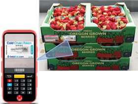 Temperature monitor to ensure fresh produce safe storage