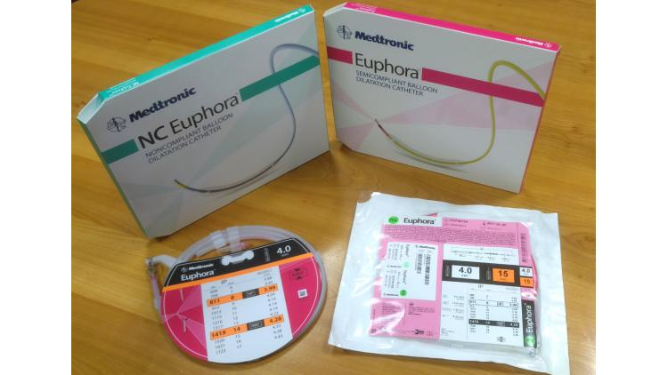Award winning package for medical device