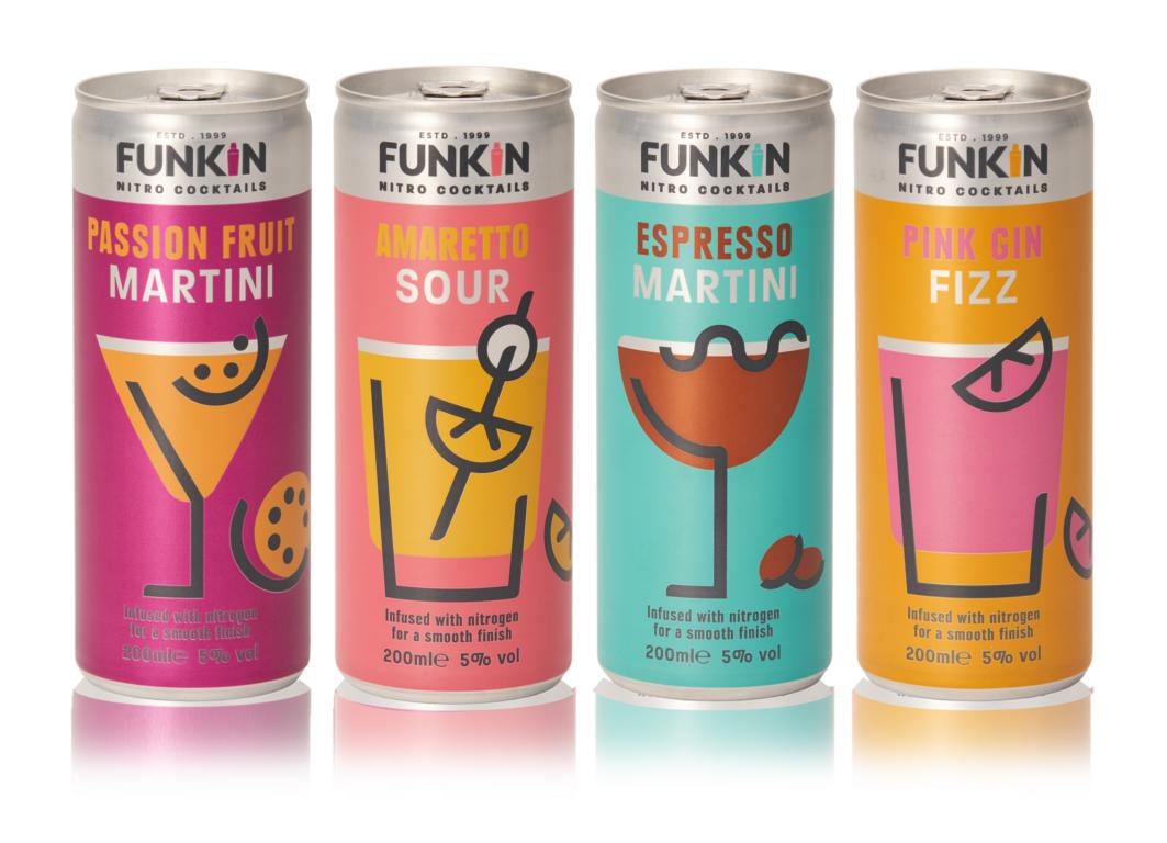 Nitro Can by Ardagh for Funkin Cocktails
