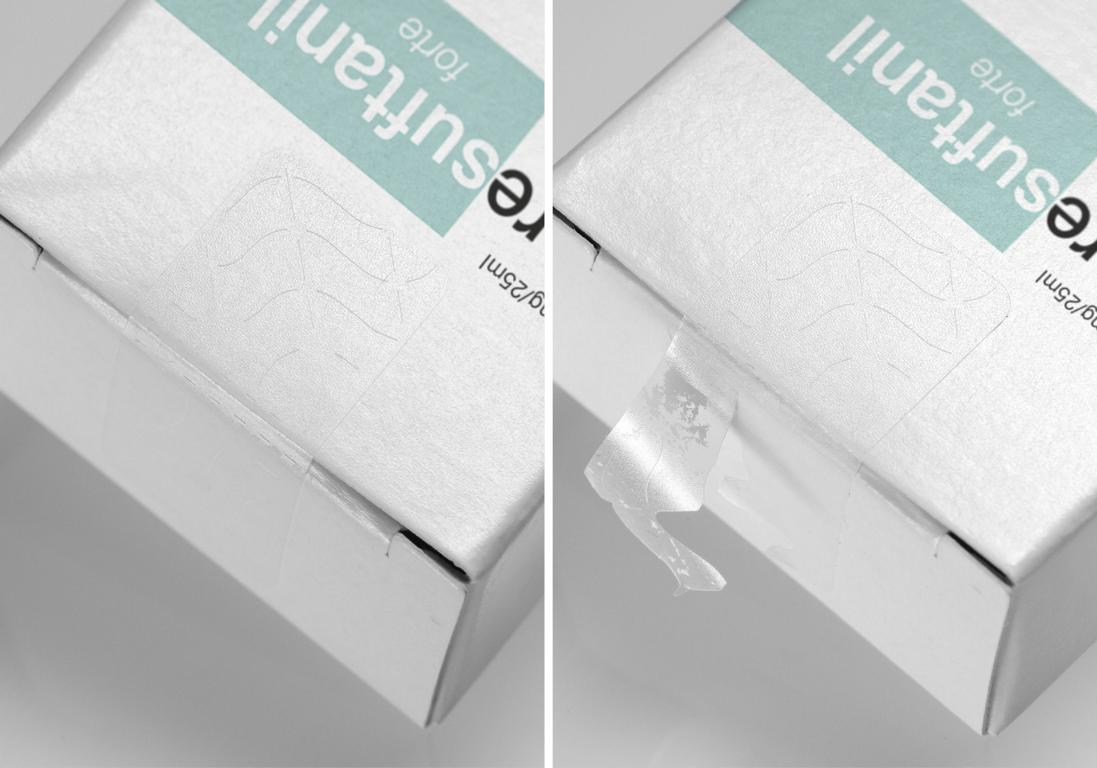 Multi-Tear Closure Label