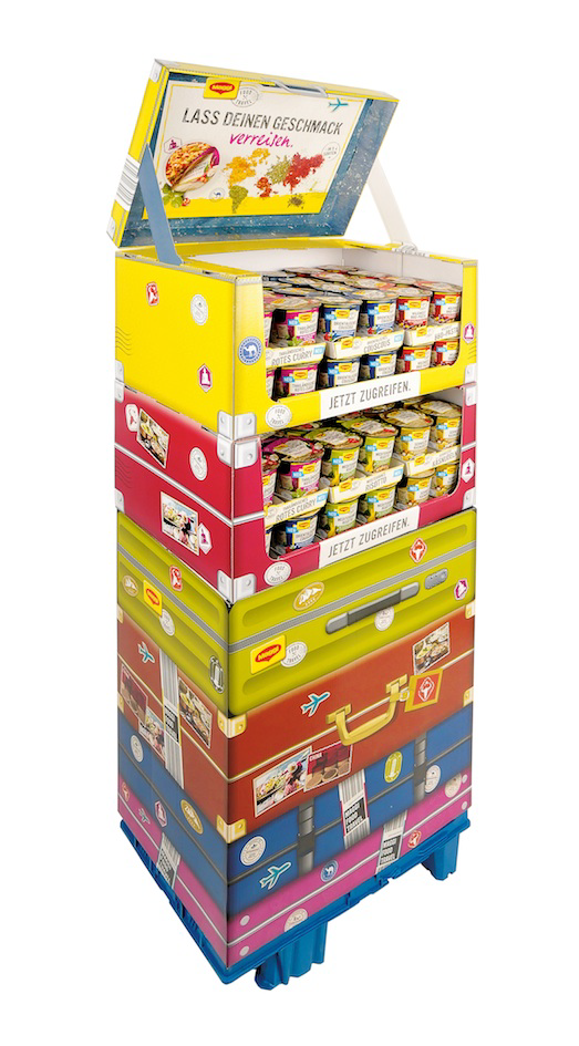 Impact strong display pack for Maggi