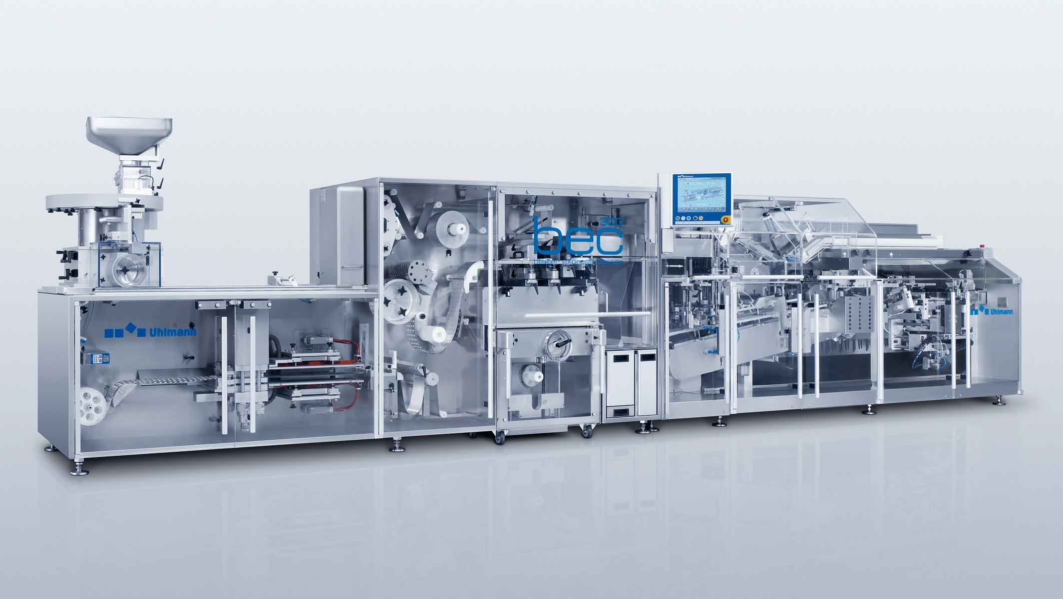 Uhlmann S Blister Express Center 300 Enhances Packaging