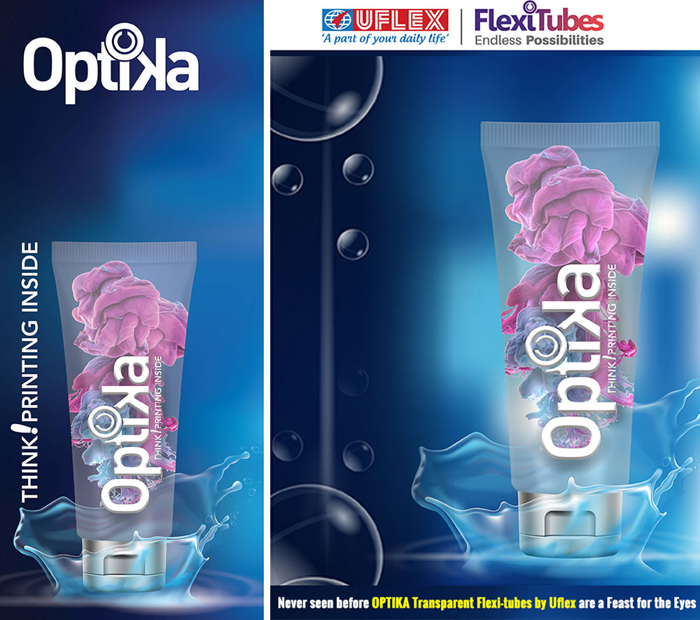 New OPTIKA Transparent Flexi-Tubes by Uflex a Boon for