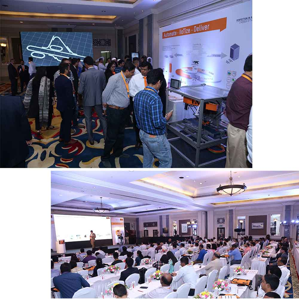 B & R organized a conference on next generation automation