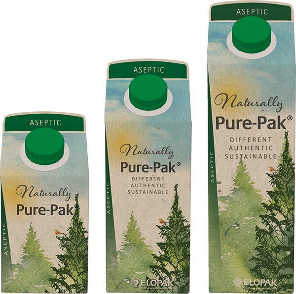 Elopak launches aseptic Pure-Pak® cartons with Natural Brown Board