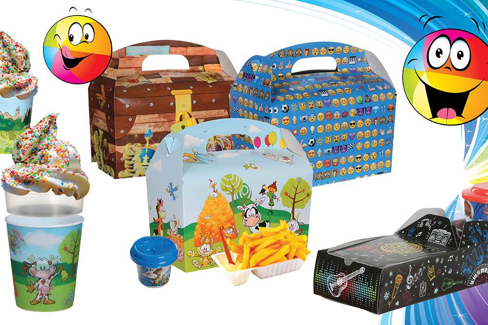 Winter wonderland lunch box