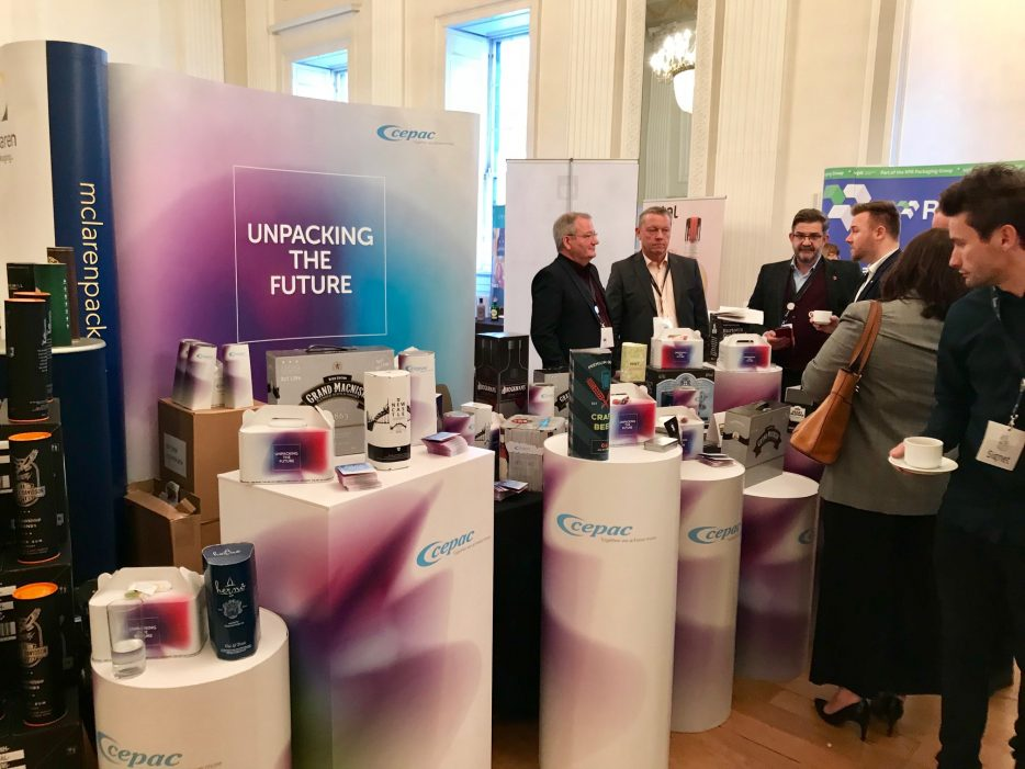 New Curved Shaped Packaging and Digital Production Methods Unveild by Cepac at the Spirits Packaging Summit 2018