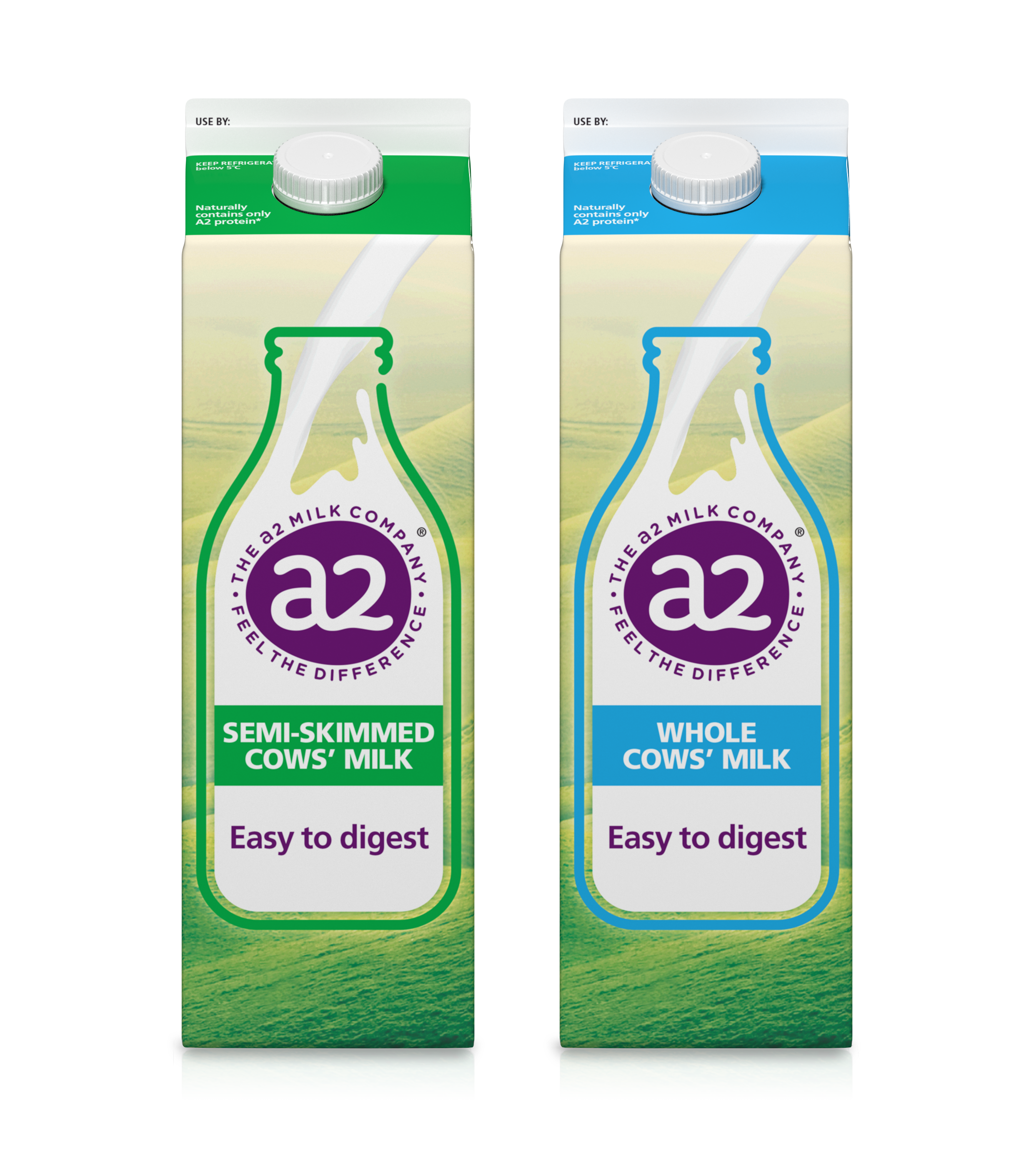 a2 Milk™ UK has ditched plastic bottles and switched to recyclable cartons
