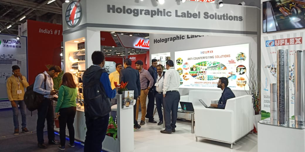 Uflex presents Premium Lens Transferred Paperboard and cartons at Label Expo India 2018