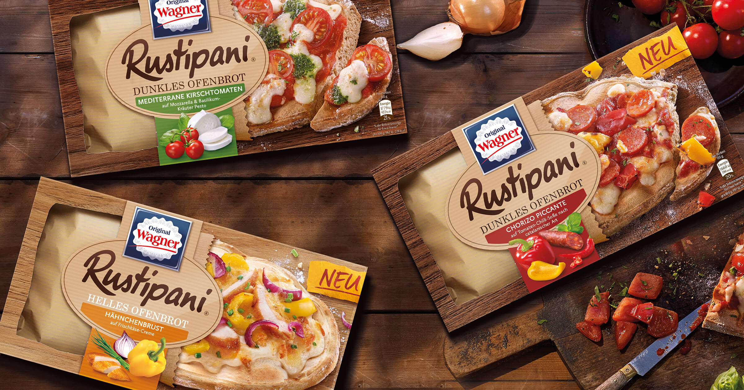 Rustipani: Top brand 2018 with new packaging concept