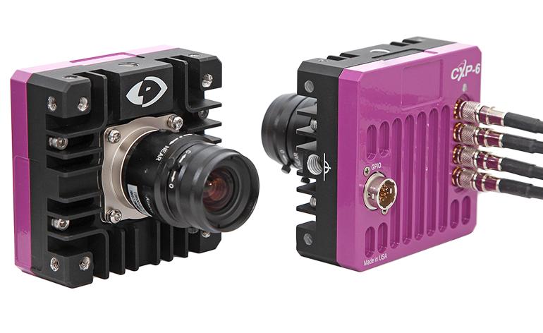 NEW Machine Vision Phantom S210 and S200 Streaming Cameras