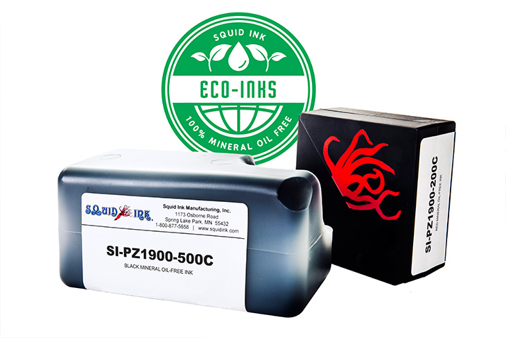 Environmentally Friendly Mineral Oil Free Inks From Squid Ink Manufacturing