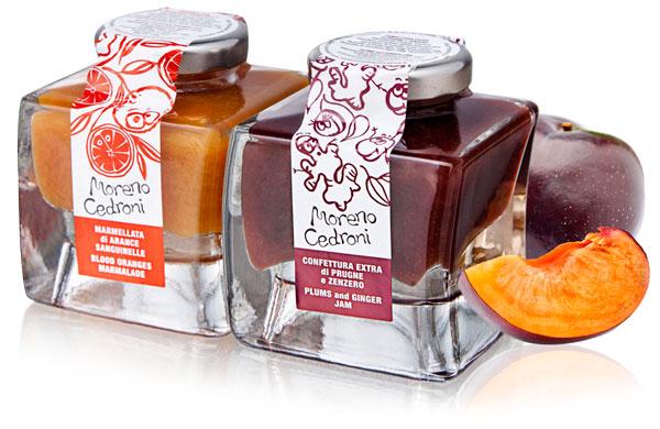 Beautiful stackable jam packaging