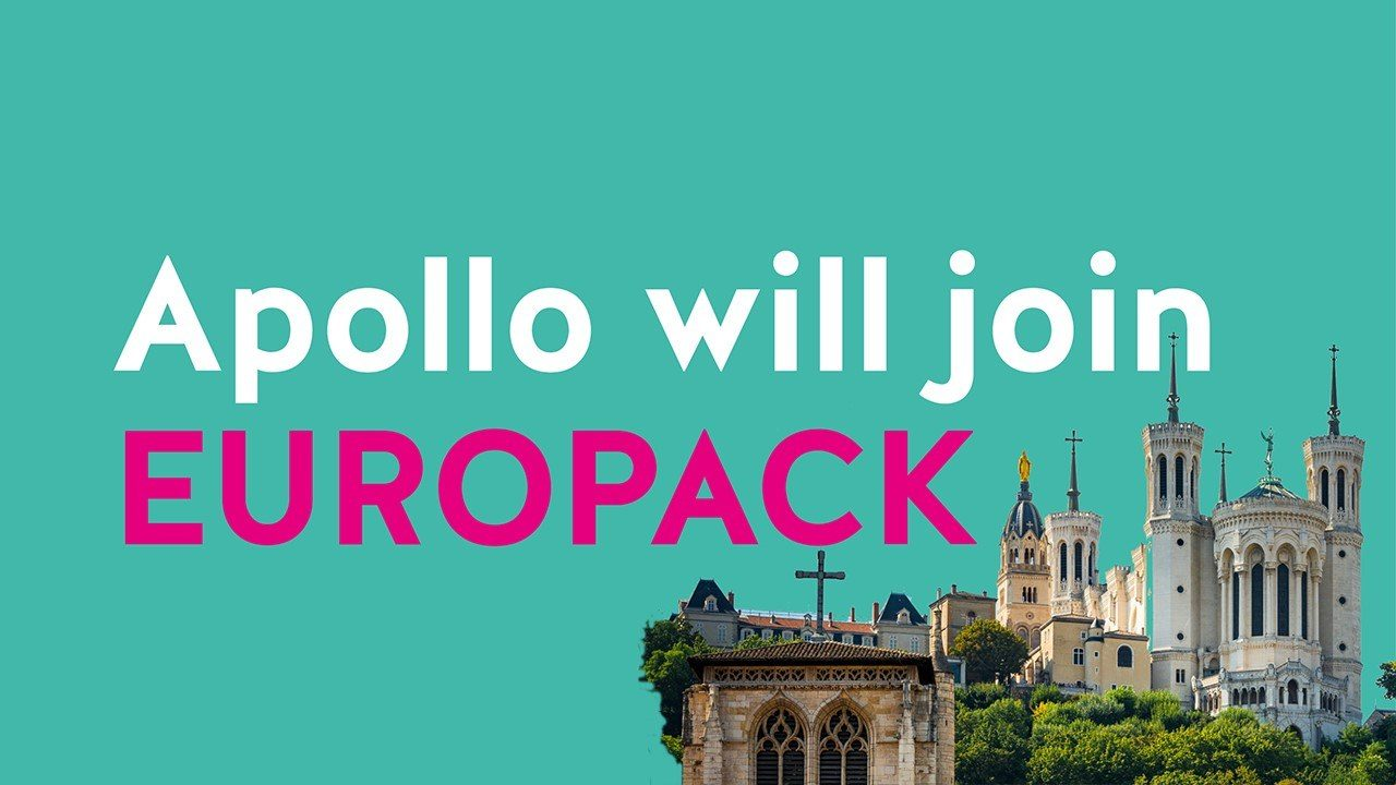 Meet us in Lyon during the Europack Euromanut