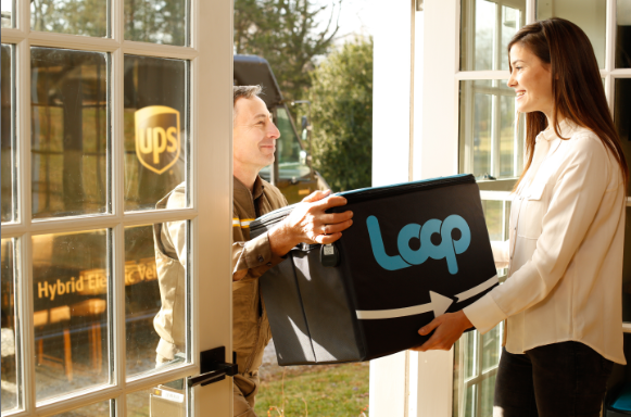 The Loop circular shopping platform aims to get brand owners to develop durable, reusable packages that get picked up, sanitized and reused over and over again.