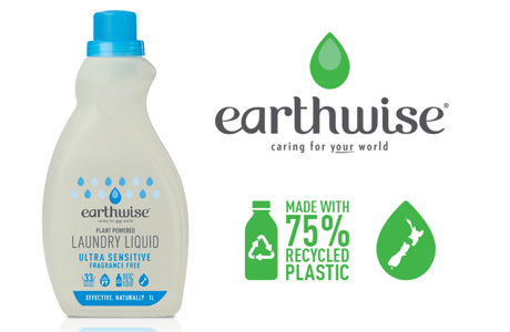 Pact Group to manufacture laundry liquid bottle from rHDPE for Earthwise