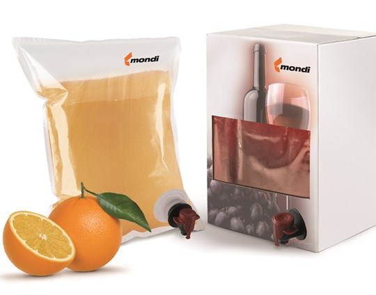 Mondi continues to innovate with sustainable solutions, with next generation of Bag-in-Box technical films