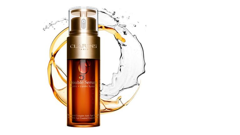 Innovative New Packaging for Clarins Double Serum