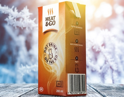 SIG launches hot drinks microwaveable carton