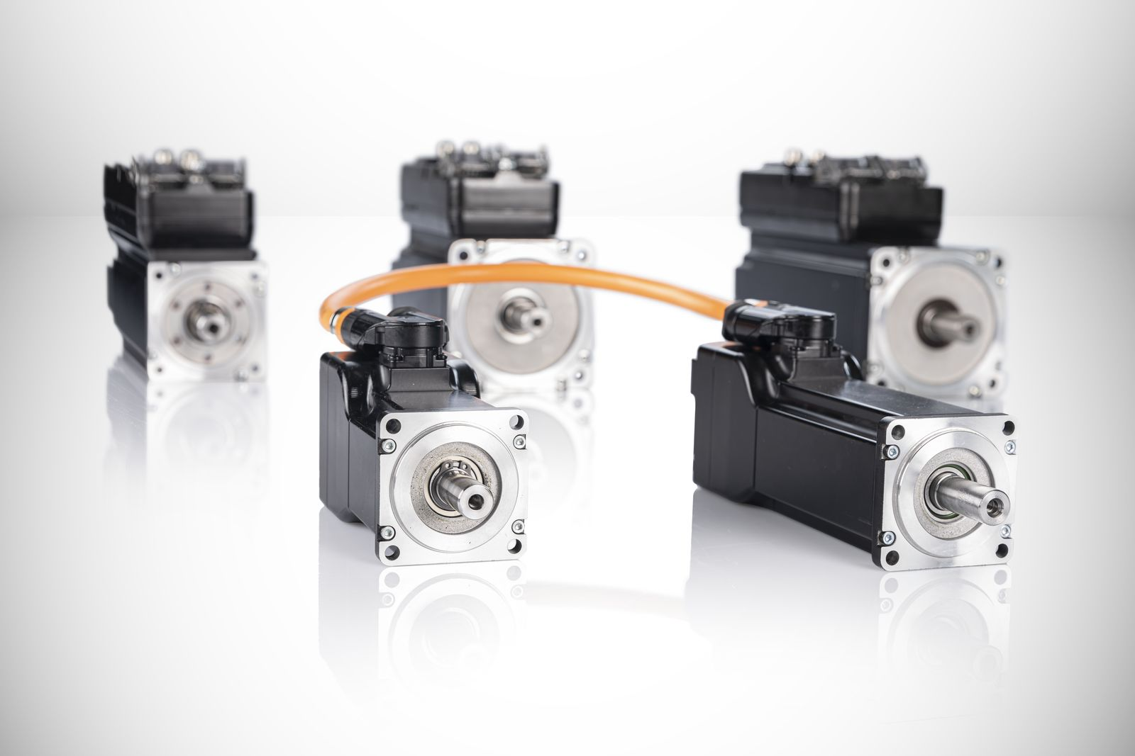 Big performance in a small package Compact motor-drive combinations minimize machine footprint
