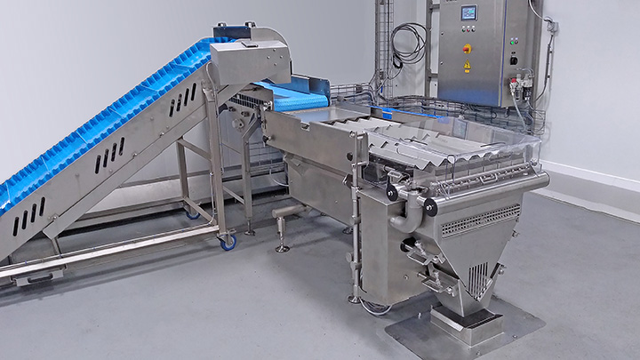 Major Frozen Food Manufacturer Increases Production Capacity with Cremer Washdown Counting Machine
