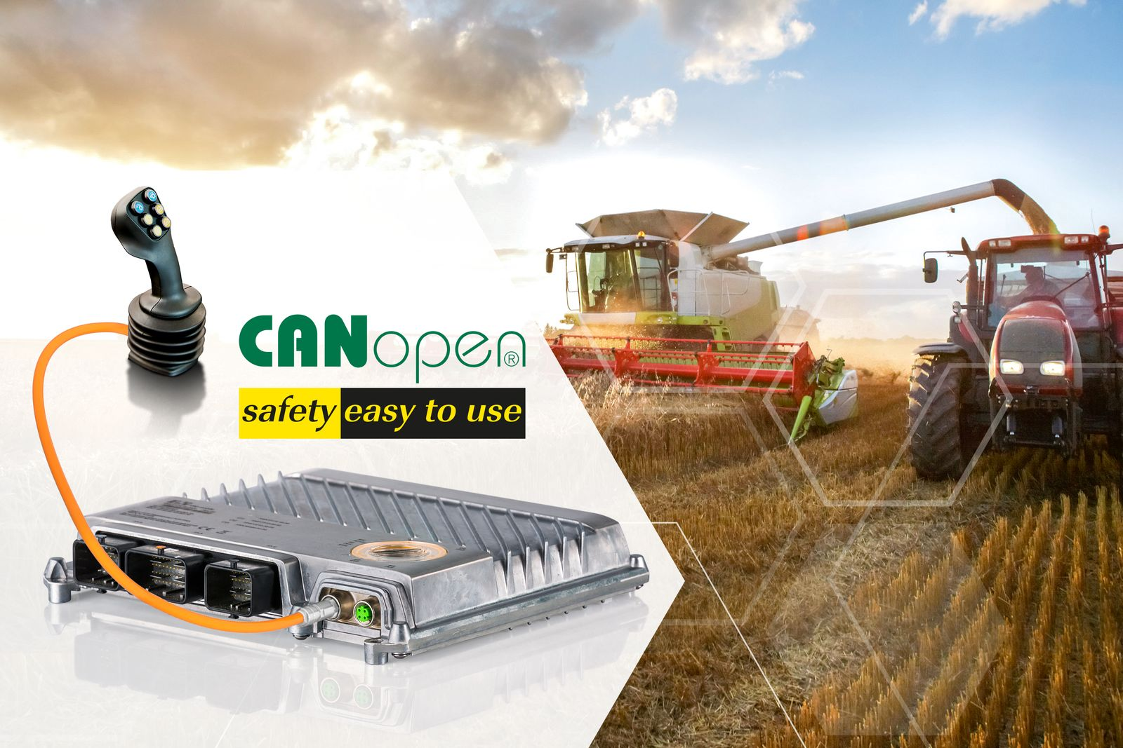 Easy implementation of safety functions B&R enables CANopen Safety on its X90 safety controllers