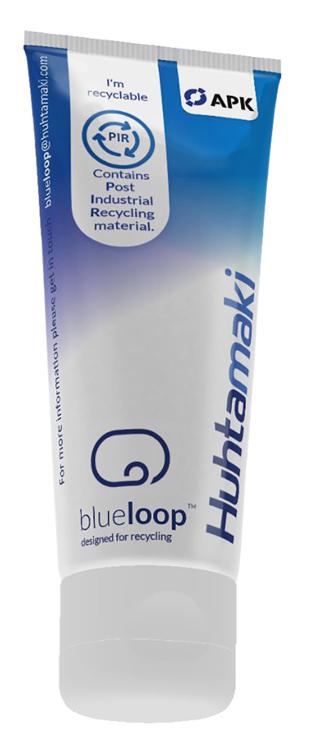Huhtamaki integrates APK's LDPE- recyclate into laminated tubes