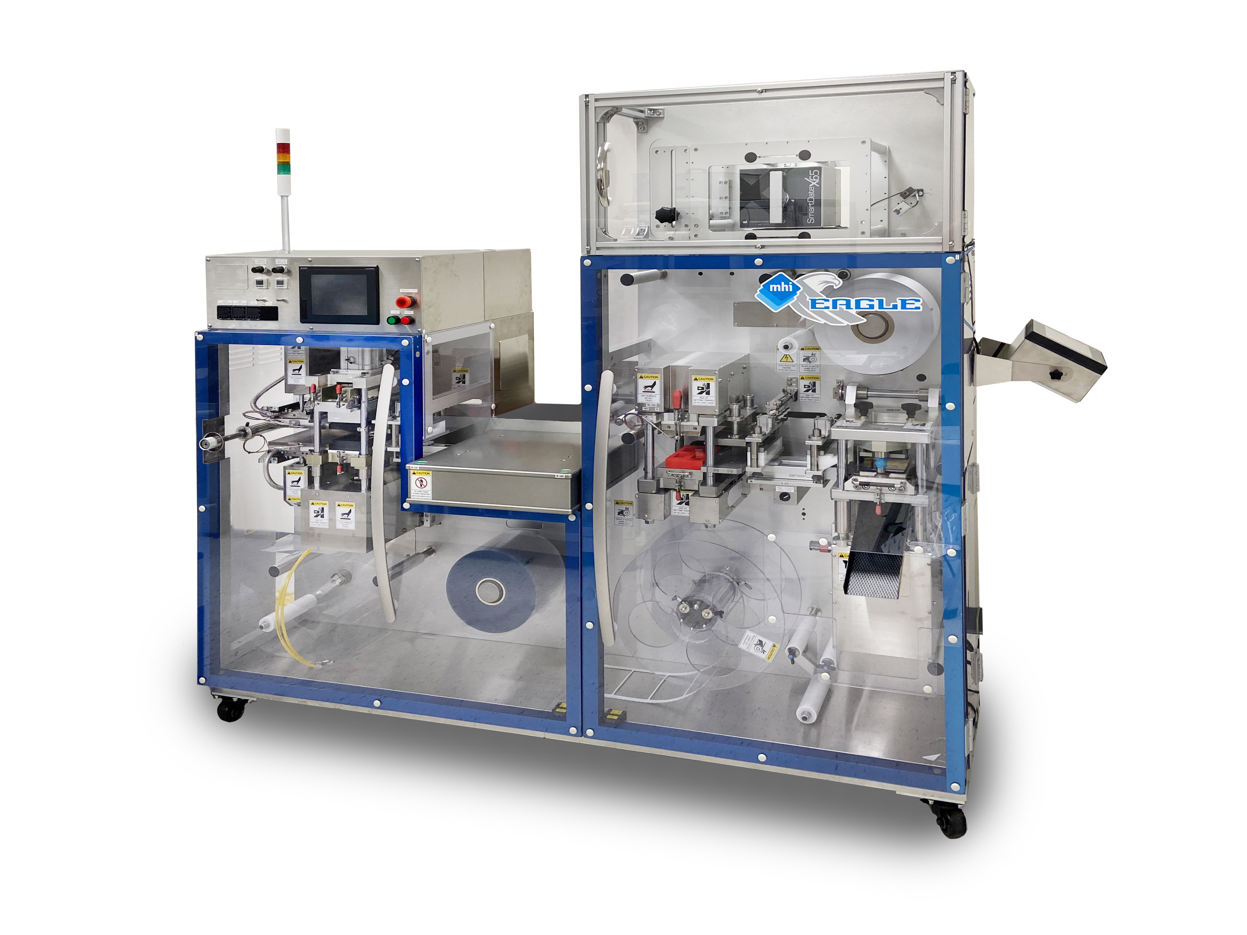 At Pack Expo 2021, MHI To Showcase EAGLE-Omni  Deep-Draw Blister Packaging Machine With Enhanced Printer Module