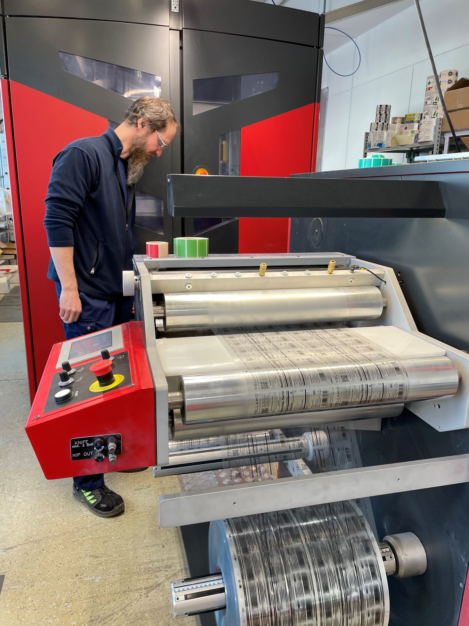Nordic Label – adding digital value for brands with Xeikon Smart Label Solution -Track and Trace