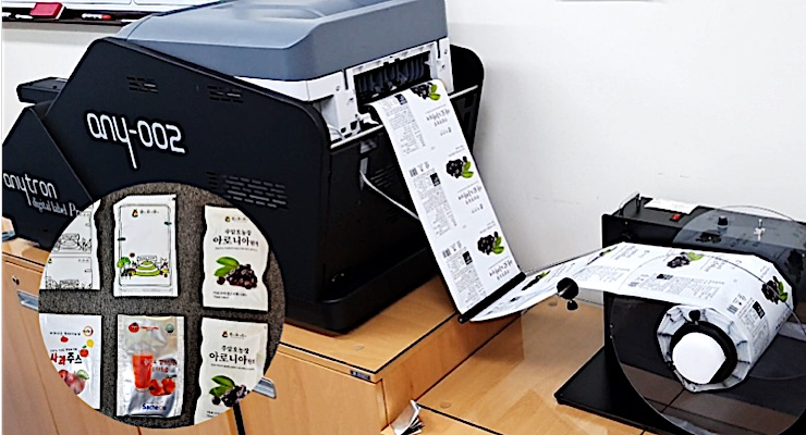 anytron any-PACK helps Korean company with flexible packaging