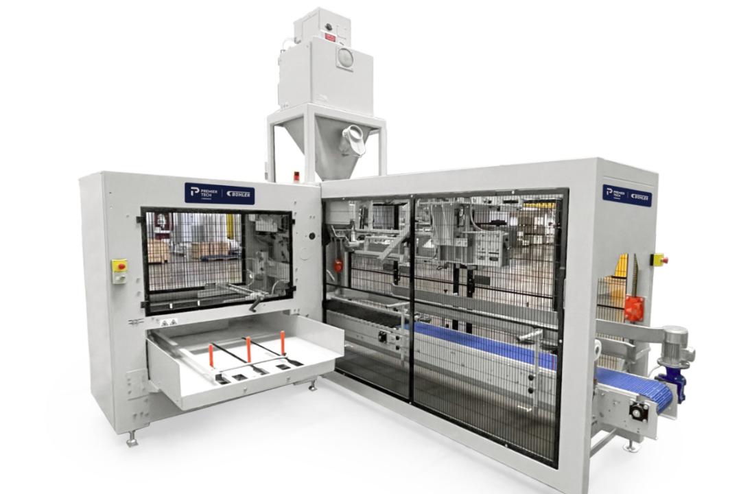 Bühler, Premier Tech introduce automatic packaging solution