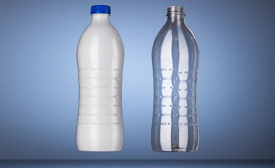 Lightweight 1liter PET bottle