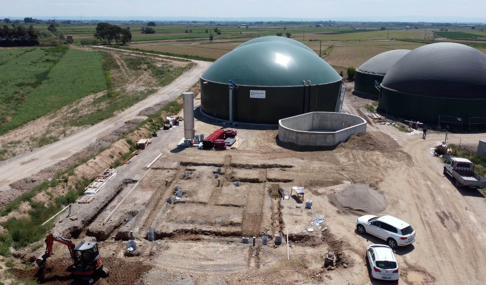 WELTEC BIOPOWER RNG Plant Cuts Carbon Emissions of Dairy Cattle Farm Long-Term Purchase Agreement Secures Use as Biofuel