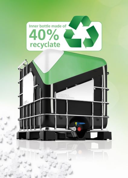 Schütz Green Layer – UN-approved IBCs and plastic drums made with high quality recyclate