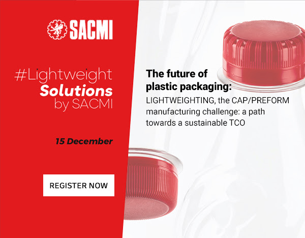 SACMI – The lightweight challenge in cap-preform production